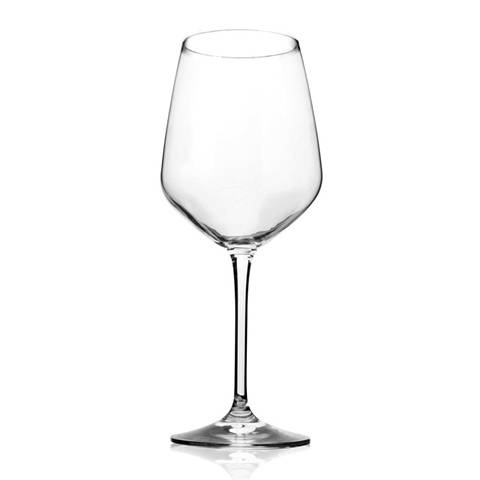 This is a lead-free crystal goblet wine glass cup.