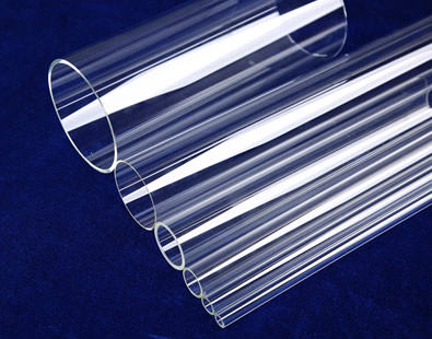 Six precision glass tubes with minor tolerance are on the ground.
